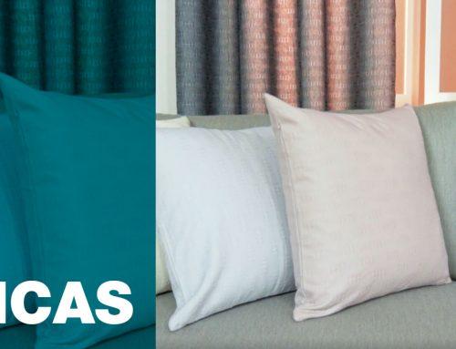Como combinar cortina e almofada