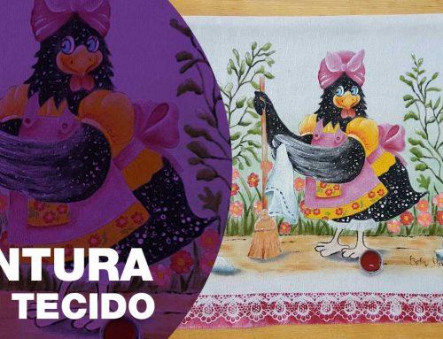 Pintura Galinha Carijó