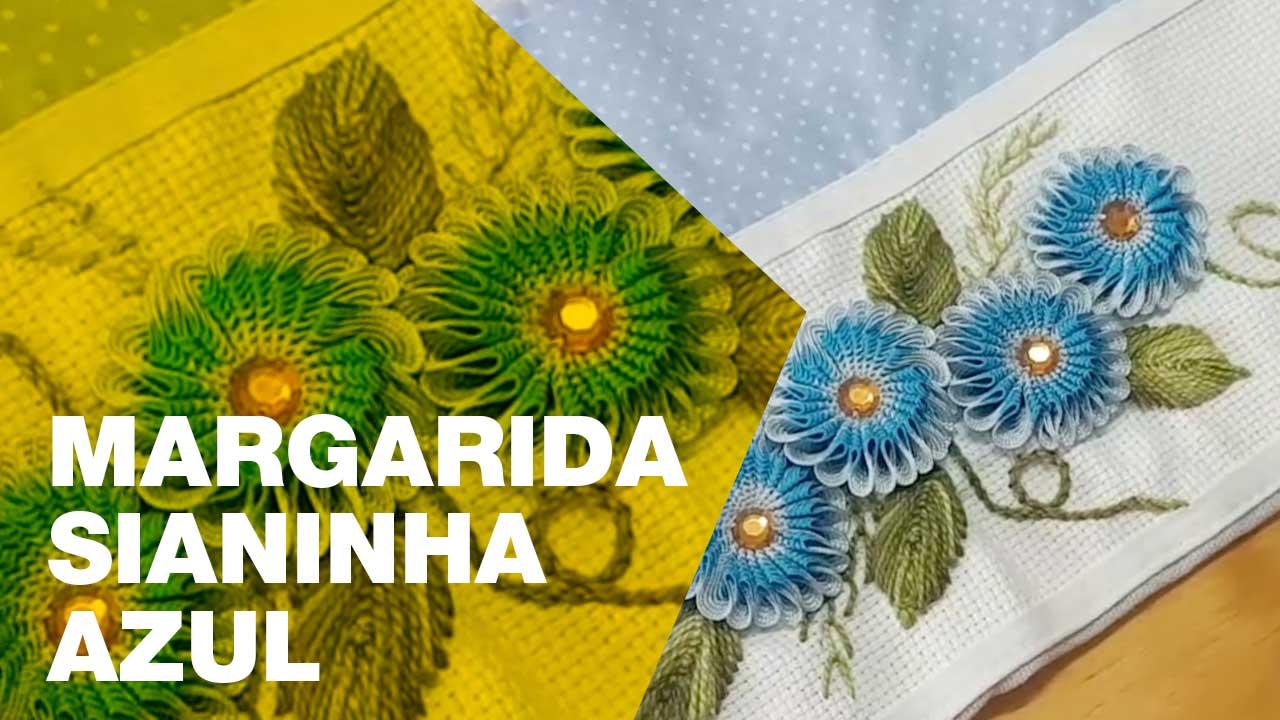 Margarida Azul Sianinha