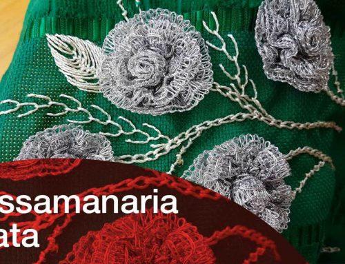 Toalha Rosa de Passamanaria